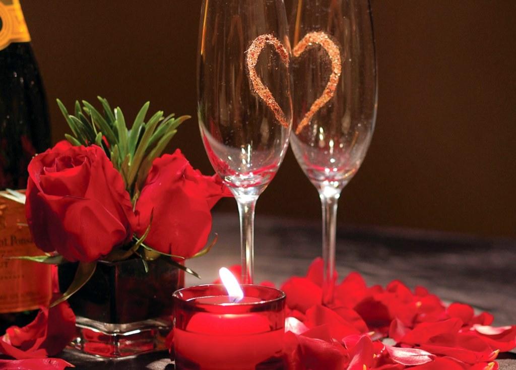 «Влюблённый день» в ресторане Пашмир